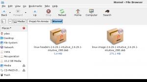 Le dernier noyau de Linux Intégré à Intuitive